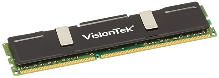 VisionTek 4GB DDR3 1333 MHz(PC3-10600) CL9 DIMM Low Profile Heat Spreader, Desktop Memory - 900385