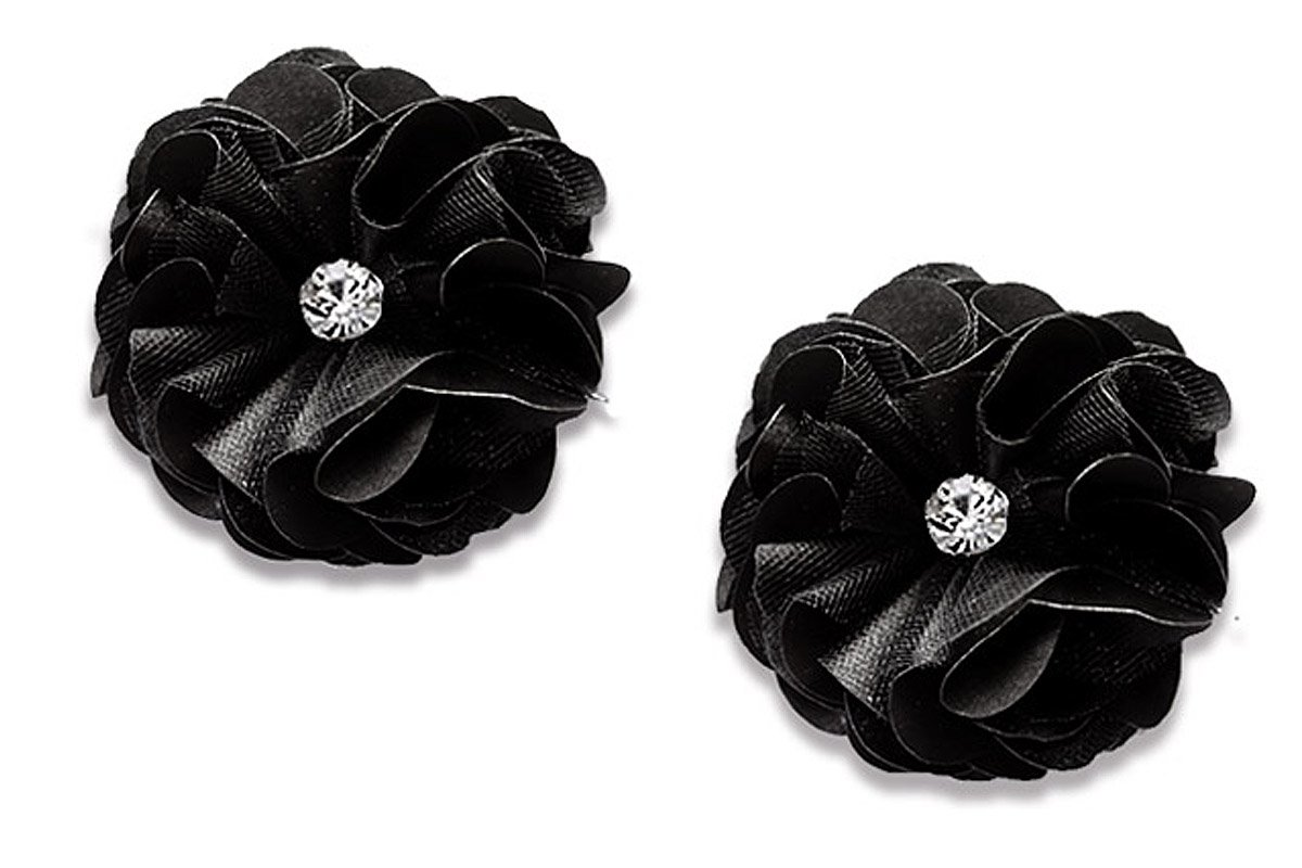 Absolutely Audrey Calista Black Shoe Clips