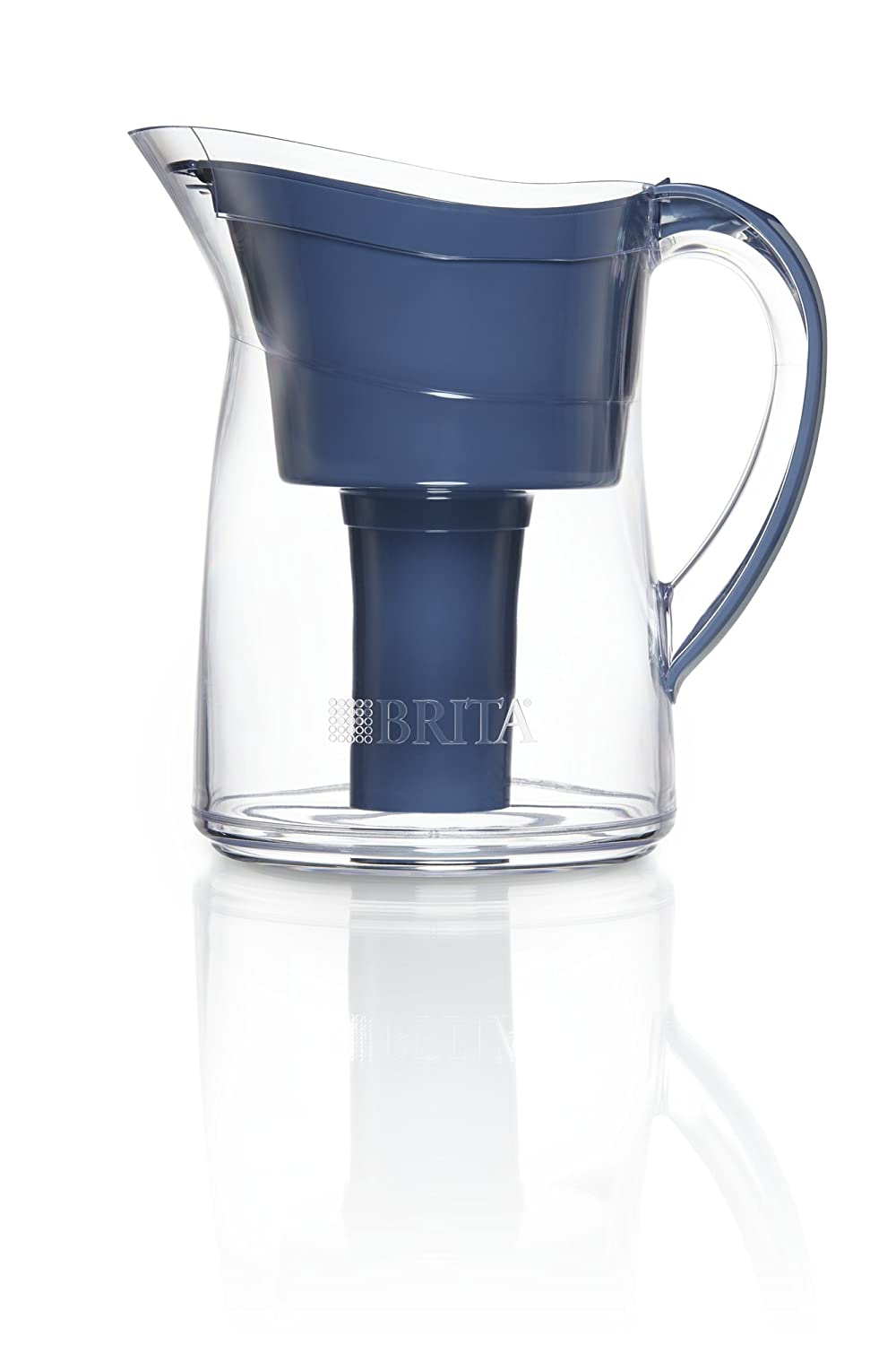 Brita Mini Plus Water Filter Pitcher with 1 Replacement Filter, Turquoise, 6 Cup 636101