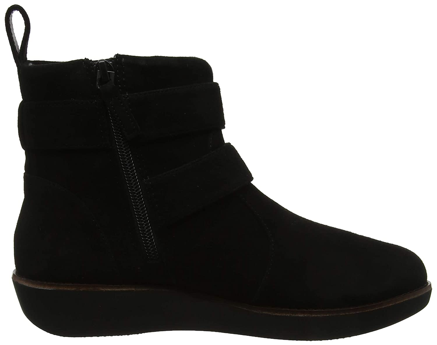 ea0684402585 Fitflop Women s Oona Buckle Ankle Boots  Amazon.co.uk  Shoes   Bags