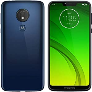 Motorola MOTO G7 Power - GSM Unlocked 32GB Android Smartphone - Marine Blue (Renewed)