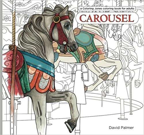 Carousel - Coloring Book for Adults