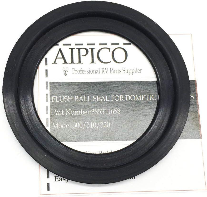 AIPICO Flush Ball Seal Kit 385311658 for Dometic Model 300//310//320 Toilet