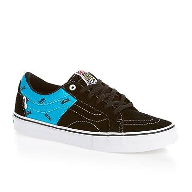 VANS Men's Av Native American Low Style : Vn-0qex Shoe, Black/Cyan