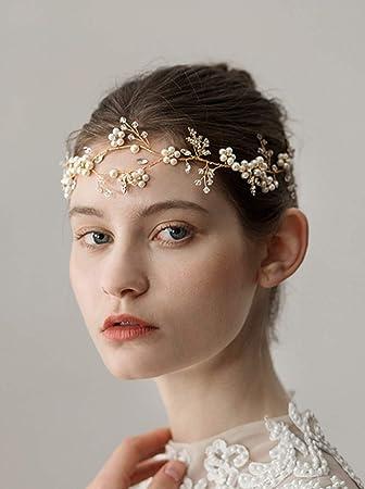 Amazon Deniferymakeup Handmade Bridal Forehead Ornaments Sweet
