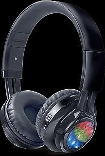 7d8b2905a80 iBall Glint-BT06 Neckband Wireless Bluetooth Headphones with FM Radio and  Mic (Black)