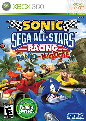 Sonic & SEGA All-Stars Racing - Xbox 360 (Best Boxing Game For Xbox 360 Kinect)