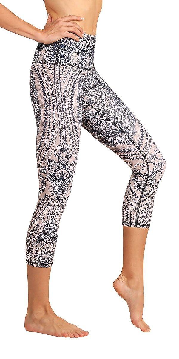 Yoga Democracy Eco-Friendly Henna My Heart Leggings Crops