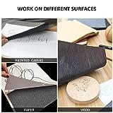 COCODE 100 Sheets Carbon Paper Black Graphite