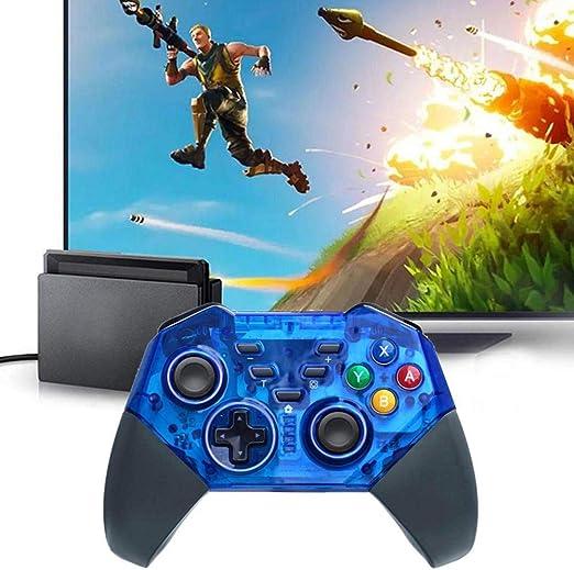 Controlador inalámbrico OMKARSY para Nintendo Switch, gamepad Pro compatible con Nintendo Switch, PC y Android (azul): Amazon.es: Videojuegos