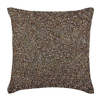 Amazon.com: Decorativos fundas de almohada plata, fundas de ...