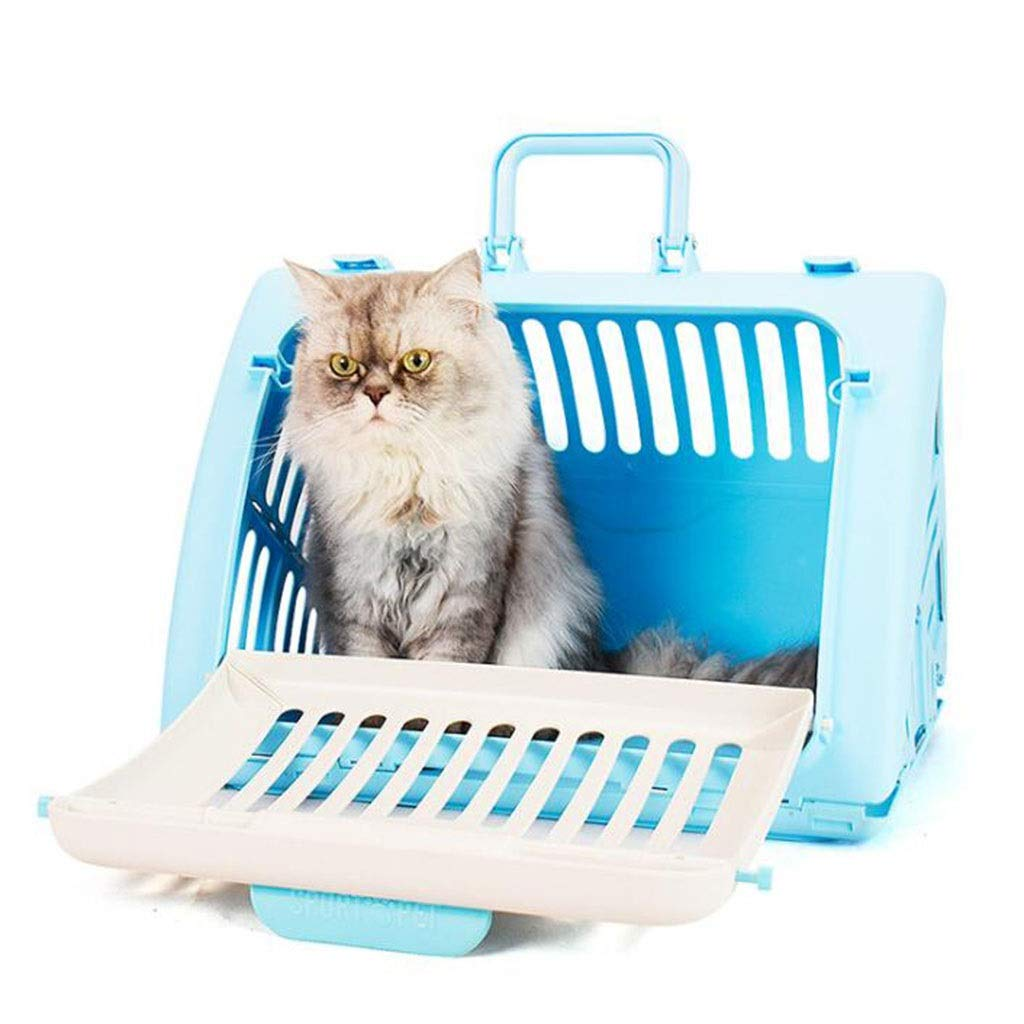 bluee Cat Supplies, CarryOut Bag, Convenient, Breathable Pet Bag, Cat Bag, Foldable Cat Cage (color   Red)