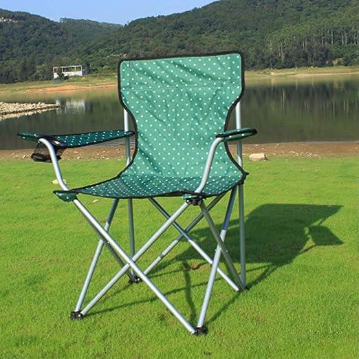 Silla de Camping Plegable Ligera, Silla de Camping para Exterior y ...