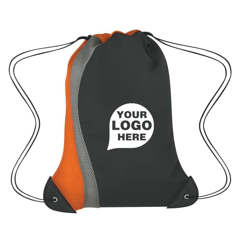 Mesh Drawstring Sports Pack - 100 Quantity - $4.79 Each - Promotional Product/Bulk with Your Logo/Customized