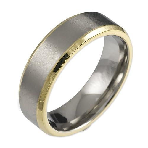 303d34ddc3 CORE by Schumann Design Unisex-Ring aus Titan ohne Stein Gr. 50 (15.9