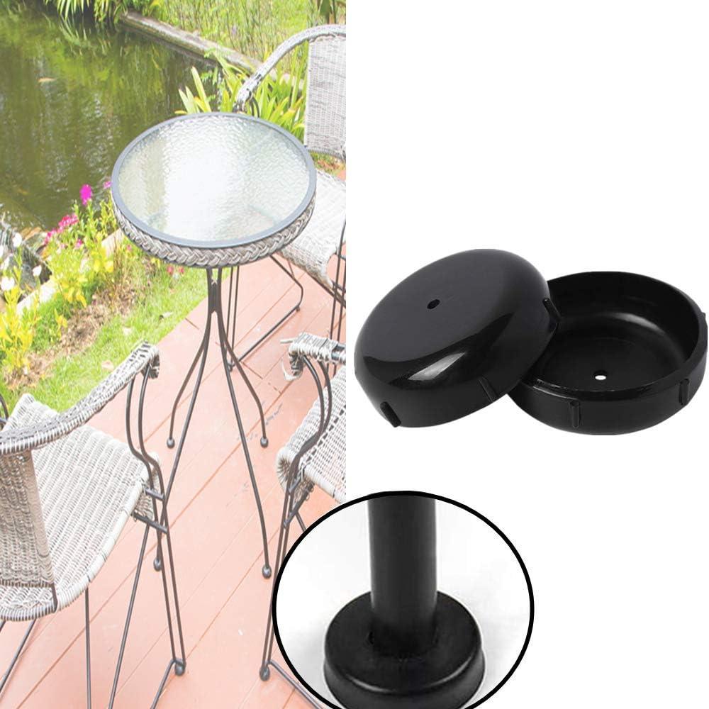 Wrought Iron Chair Glide Protector - Patio Outdoor Furniture Table Feet Leg Cap 1-1/2