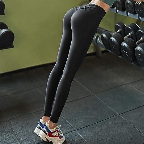 Cintura alta Mujeres Medias de control de barriga de cintura ...