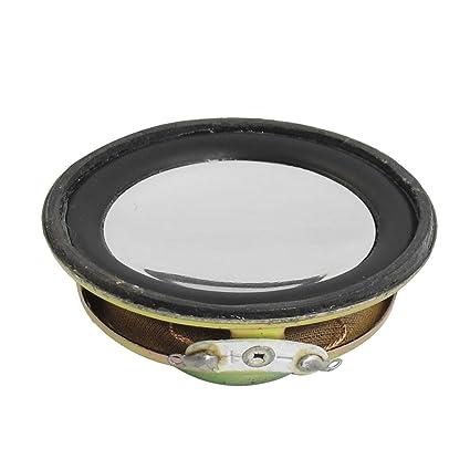 Amazon.com: uxcell 3W 3 Watt 4R 4 Ohm 50mm Dia Magnetic Type ...
