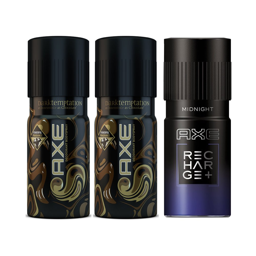 Chocolate Smelling Axe Deodorant Bodyspray Apollo 150ml Twin Pack Buy Dark Temptation Of With Midnight Online At Low Prices In India