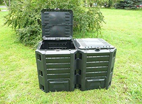 Memoria Garden Tacho de basura de compostaje unidad 800L ...