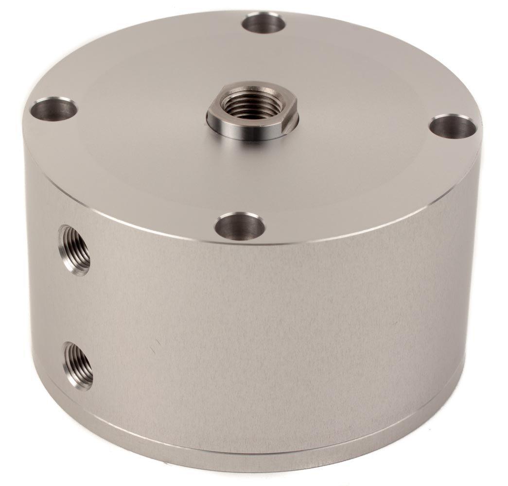 Fabco-Air C-521-X Original Pancake Cylinder, Double Acting, Maximum Pressure of 250 PSI, 2-1/2' Bore Diameter x 1' Stroke 2-1/2 Bore Diameter x 1 Stroke FAB   C-521-X