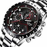 Watch Men Fashion Sport Quartz Clock Mens Watches Top Brand Luxury Full Steel Business Waterproof Watch
