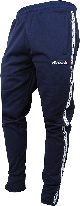 Ellesse para Hombre cecita pantalón de chándal en Azul Marino Azul ...