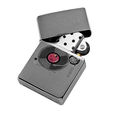 DJ Tocadiscos para discos de vinilo - viento abatible plata ...