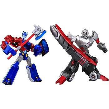 Japanese transformers animated cybertron - Transformers cartoon optimus prime vs megatron ...