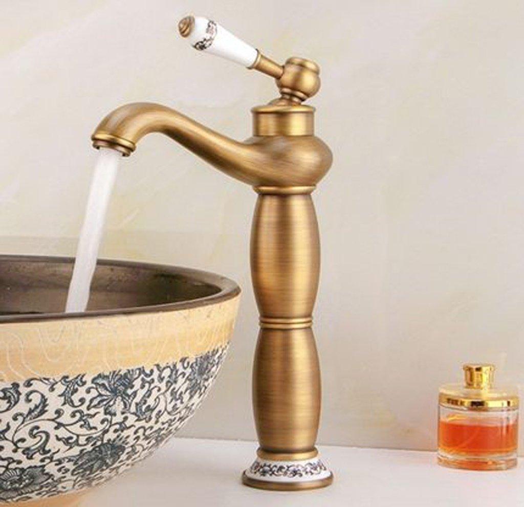 Bassin-Hahn mit warmen und kalten Wasserhahn mit warmen und kalten Becken Waschbecken Wasserhahn Art Badezimmer