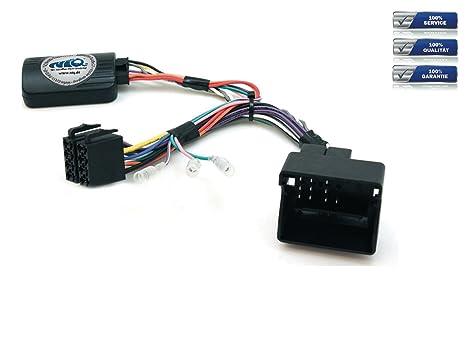 CAN-BUS adaptador de mando a distancia de volante para Peugeot 207/208/