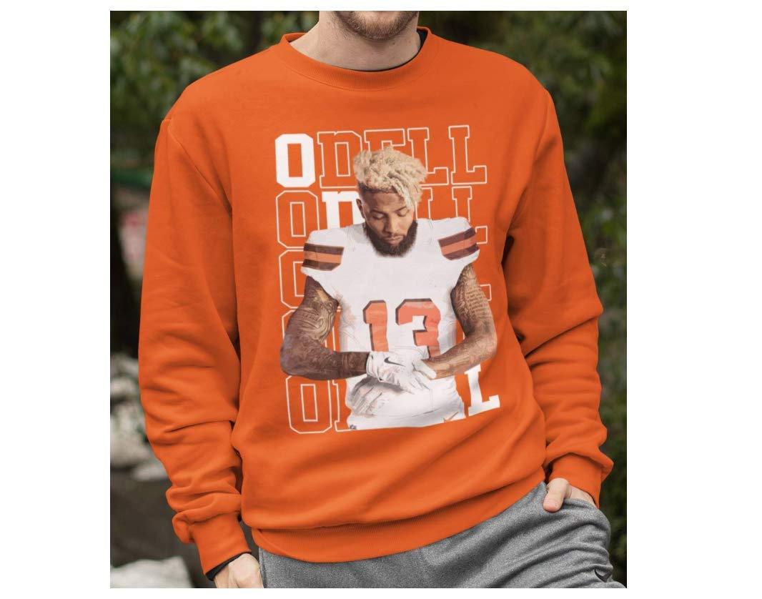 Odell 13 Brownie Football Cleveland Fan Big Fan Customized Handmade Shirts