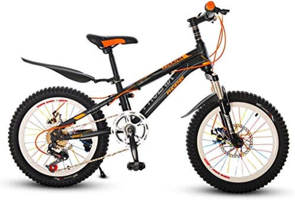 FesiAq Bicicleta de montaña para niños Bicicleta de Viaje para niños al Aire Libre 6-7-10-12 años Bicicleta para niños Escuela Secundaria EstudianteBicicleta Velocidad Bicicleta de montaña