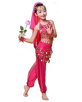 Girls Belly Dance Costume Children Indian Dance Outfit Dancewear