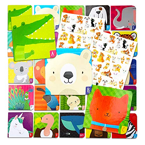 Animal ABC Board Books Set Toddlers Babies -- Pack of 24
