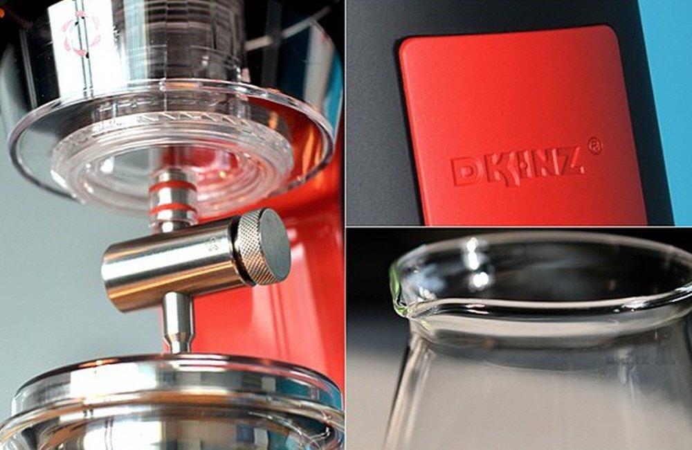 DKINZ IZAC700 Cold Brew Coffee Maker (White) by Dkinz (Image #6)