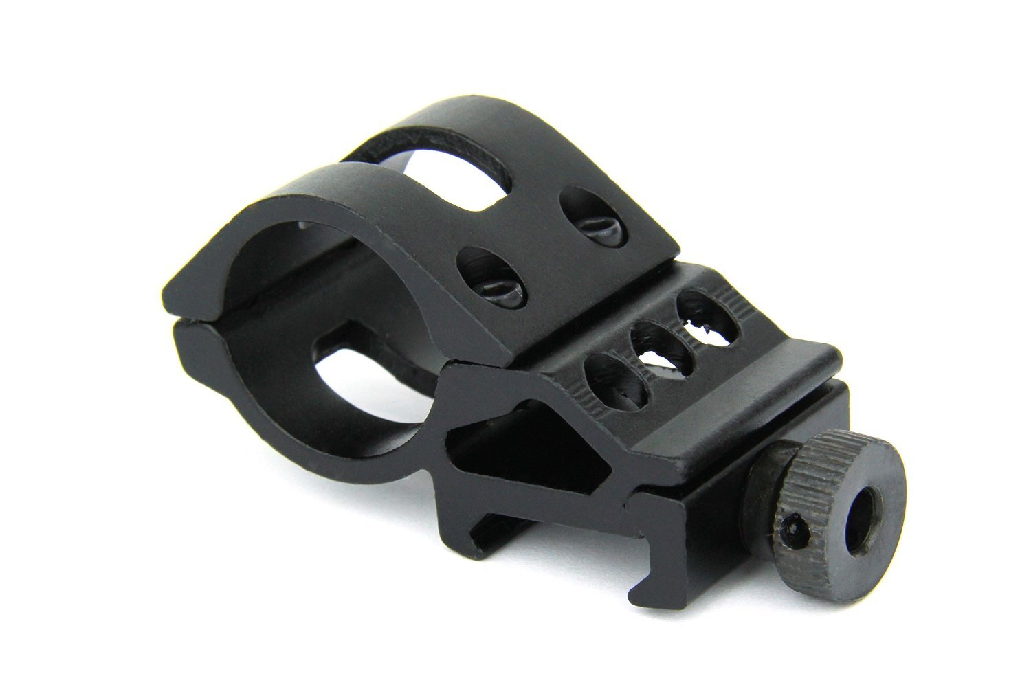 """TacFire Tactical 1"""" Offset Ring Mount 45 Degree Side Picatinny Laser, Flashlight Mount With Thumb Screws"""