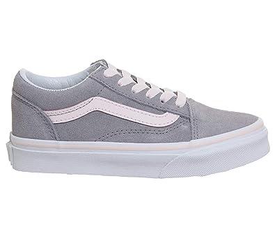amazon com vans kids old skool suede skate shoe sneakers
