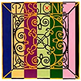 Pirastro Passione 4/4 Violin String Set - Medium Gauge with Loop End E