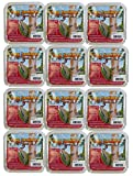 12 Packs of Pine Tree Farms Log Jammer Hot Pepper Suet- 3 Plugs Per Pack