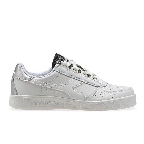 Diadora B.Elite Wn White Silver