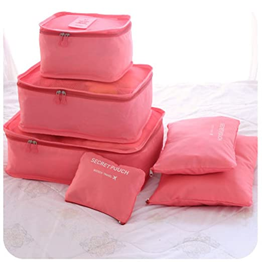 Zduang - Juego de 6 bolsas organizadoras de viaje para ...