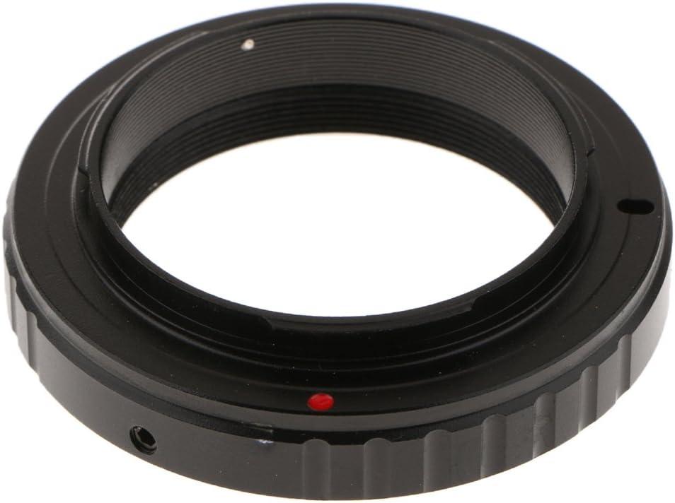 MagiDeal 0,91 Pollici T2 Anello Adattatore Lente Microscopio per Olympus Fotocamera SLR E-510 E-520 E-600