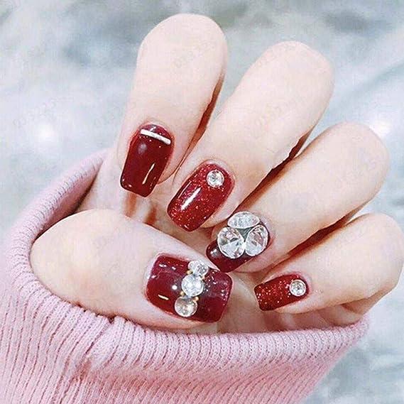 Taottao pegamento para uñas de secado rápido, adhesivo de uñas ...