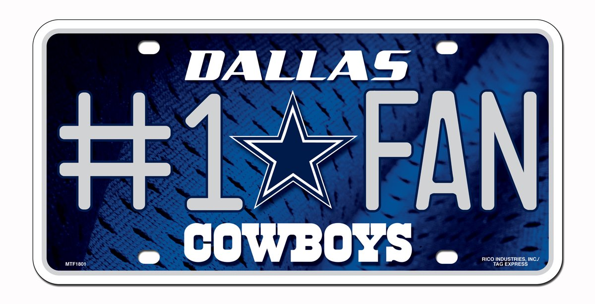 NFL Favorite Team License Plates