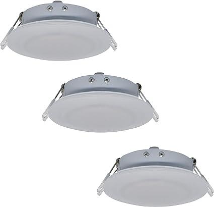 5 Pack 4.5Inch LED RV Puck Light Recessed Mount Down Light 12V Interior Light for RV Motor-Homes Camper Caravan Trailer Boat