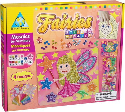 Orb Factory Magnetic Mosaics - Orb Factory Sticky Mosaics: Fairies