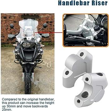 Motorrad Lenkererhöhung Für Bmw R1200gs Lc R1250gs 1g13 K50 Silber Auto