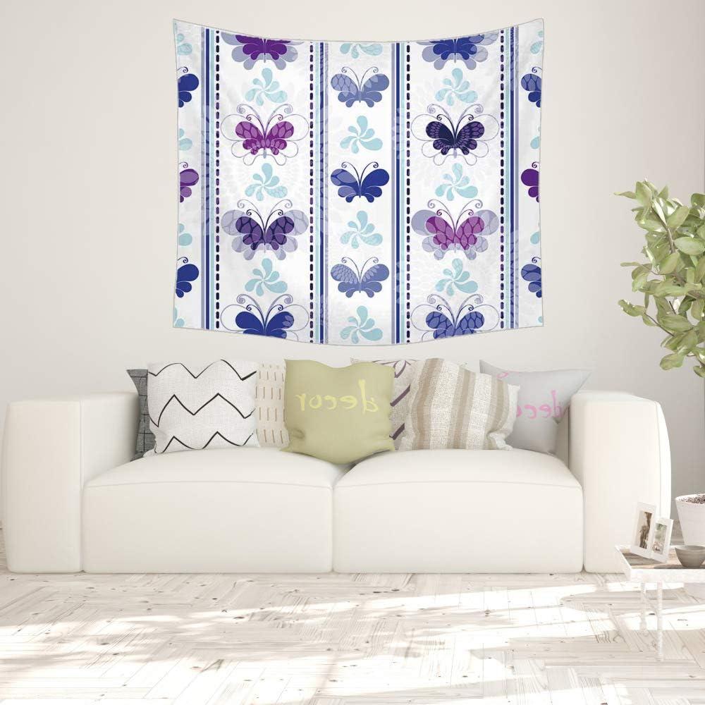 xkjymx Fac Directa tapicería de Lona Colorida Mariposa Animal ...