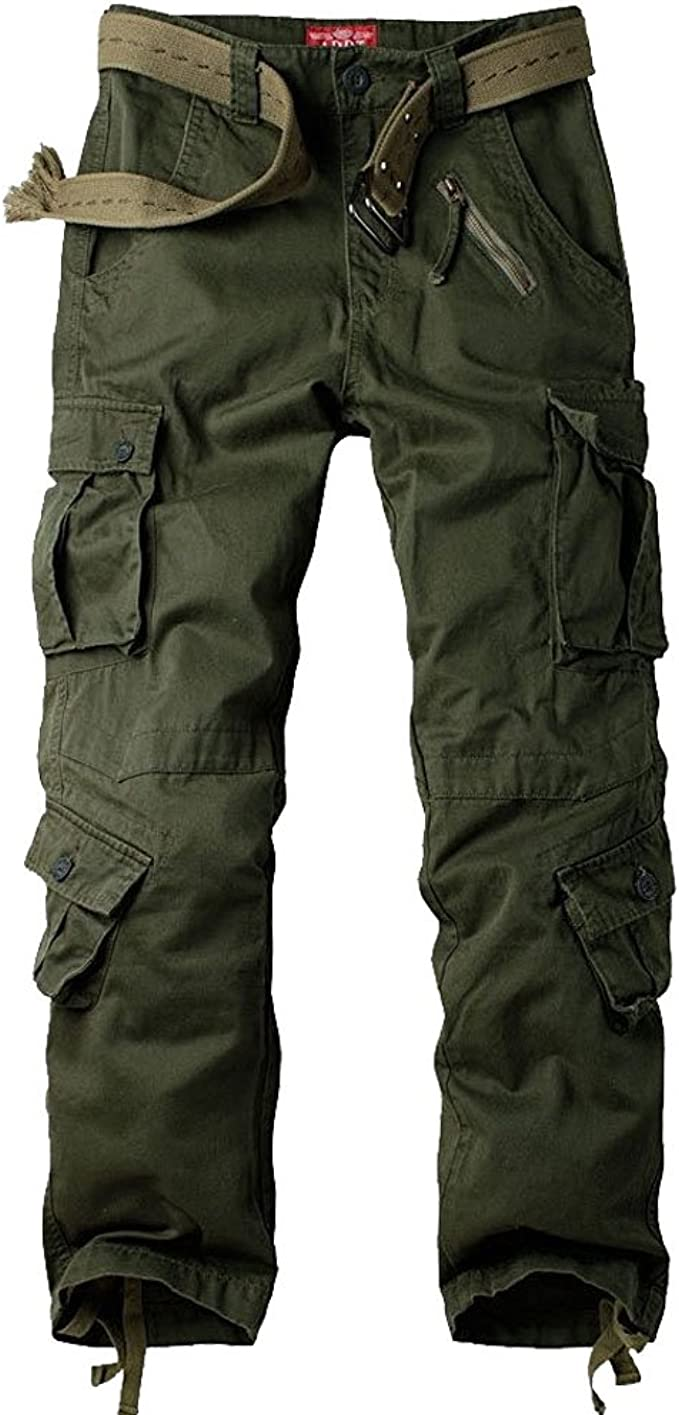 Mens Tactical Military Army Combat Trousers Airsoft Casual Work Camo Pants Cargo